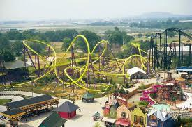 Kentucky Kingdom before it closed in 2009