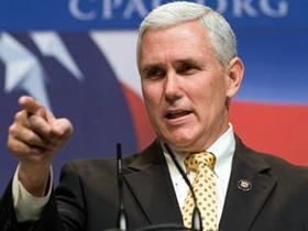 Mike Pence officially becomes Indiana's new governor Monday.