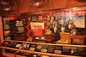 A display at the International Bluegrass Music Museum