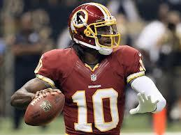 Robert Griffin III was one of the most exciting players this season in the NFL.