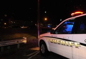 The scene at Hazard Community and Technical College Tuesday night