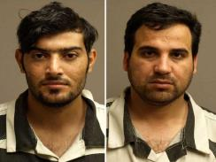 Mohanned Shareff Hammadi (left), Raad Ramadan Alwan (right)