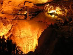A view inside Mammoth Cave National Park