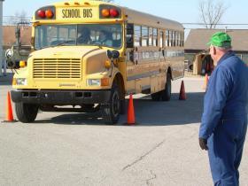 A Daviess County school bus