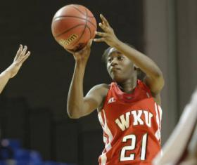 WKU's Alexis Govan hit a three-pointer to send the game into the overtime, and the Lady Hilltoppers eventually prevailed.