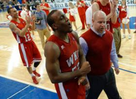 The WKU Hilltoppers celebrated Saturday night's win over South Alabama. Next up: Arkansas St. Sunday evening.