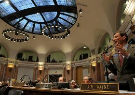A scene from the Kentucky House during the 2013 General Assembly
