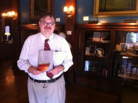 Author Michael Veach, at the Filson Historical Society in Louisville