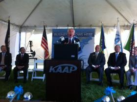 Gov. Beshear announcing Kobe's latest expansion in Warren County