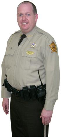 Barren County Sheriff Chris Eaton