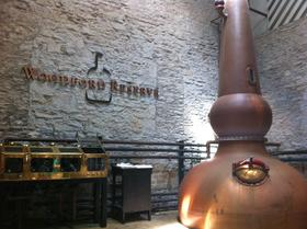 Visits to bourbon distilleries like Woodford Reserve are a major part of Kentucky's tourism industry.