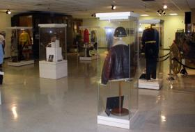 An exhibit at the George Patton Museum at Ft. Knox