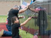 The Vietnam Veterans Memorial Wall replica, known as The Wall That Heals, will be on public display in Grandview, IN., starting Sept. 11.