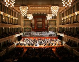 The Nashville Symphony performs at the Schermerhorn Symphony Center.