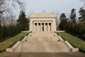 The Abraham Lincoln Birthplace National Historical Park in Hodgenville, Ky.