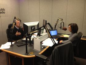 Joe Corcoran and Barb Deeb are working to bring in the money needed to support the programs on WKU Public Radio!