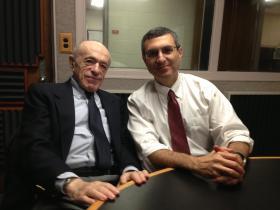 Sam Marder (left), and his friend John Cipolla, WKU Music Professor