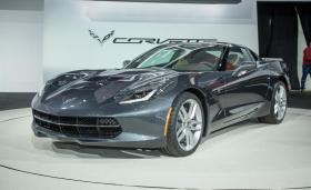 The Corvette Stingray, manufactured in Bowling Green