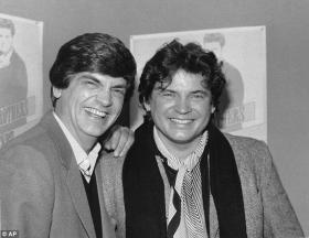 Phil, left, and Don Everly of the Everly Brothers