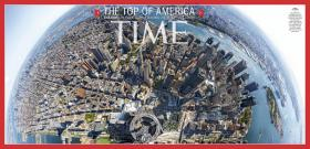 The Time magazine cover photo taken by WKU alum Jonathan Woods from the top of One World Trade