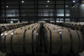 There are more bourbon barrels in Kentucky than there are citizens.