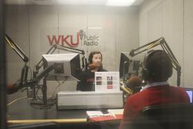 Kevin, Emil, and the entire WKU Public Radio staff are working hard this week to raise the financial support needed to pay for the programs!