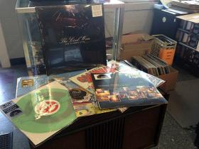 A sampling of the vinyl records that will be available exclusively in stores taking part in Record Store Day Saturday