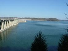 Lake Cumberland at Wolf Creek Dam