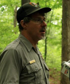 Mammoth Cave research coordinator Rick Toomey