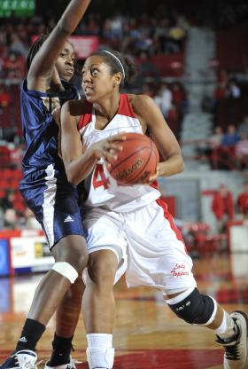 Crystal Kelly during her playing days at WKU.