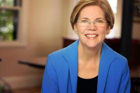U.S Sen. Elizabeth Warren is visiting Kentucky in June to support the Senate bid of Democrat Alison Lundergan Grimes.