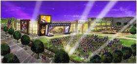 An artist's rendering of the planned International Bluegrass Music Center