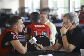 WKU starting quarterback Brandon Doughty gives his thoughts on the upcoming season to WKU Public Radio's Joe Corcoran