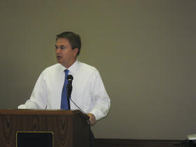 Kentucky Agriculture Commissioner and gubernatorial candidate James Comer.