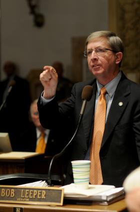 State Senator Bob Leeper, I-Paducah