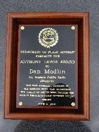 The 2006 Anthony Lewis Award