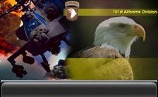 Fort Campbell is home to the Screaming Eagles of the 101st Airborne Division.