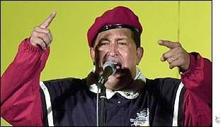 Hugo Chavez, President of Venezuala