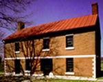 One of the historic buildings at South Union Shaker Village in Logan County, Ky