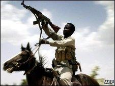 Sudanese government-backed gunmen have slaughtered tens of thousands of civilians in Darfur.