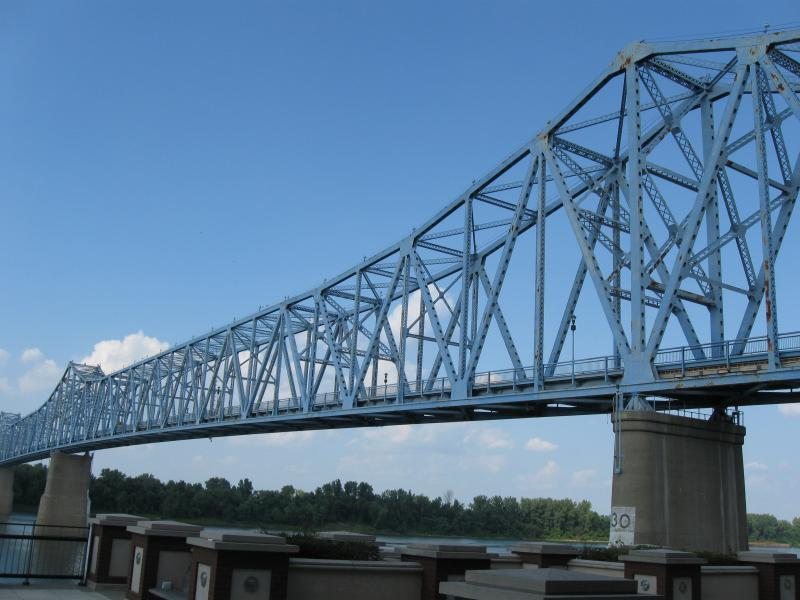 The KY 2262 Ohio River Bridge in Owensboro