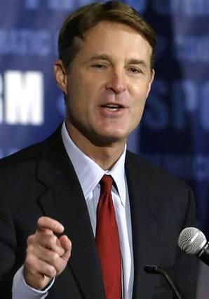 Former Indiana Senator Evan Bayh