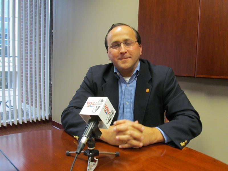 Dr. Brian Meredith, Associate V-P of Enrollment Management