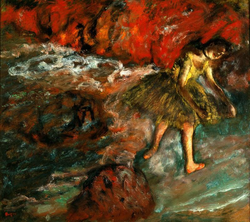 """""""Ballet Scene"""" by Edgar Degas"""