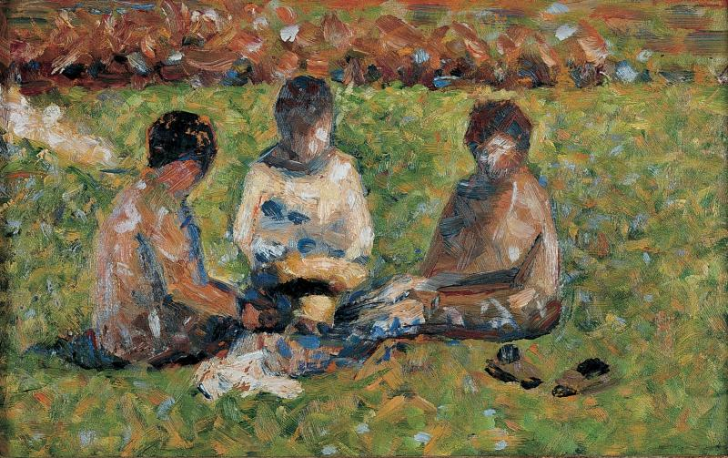 """The Picnic"" by Georges Seurat"