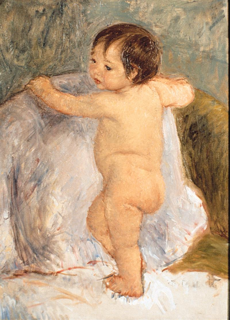 """The Child"" by Mary Cassatt"