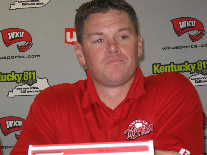 WKU Baseball Coach Matt Myers