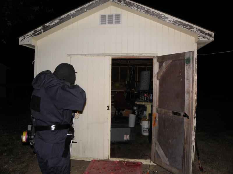 Meth lab bust in Barren County, Ky
