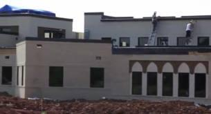 The Islamic Center of Murfreesboro, still under construction.