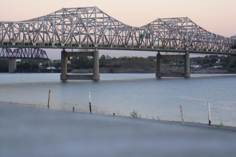 The Kennedy Bridge in Louisville